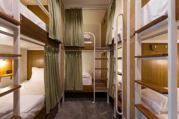 ห้องพักรวมแบบเตียง 2 ชั้น