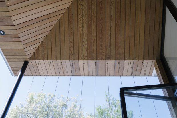 ฝ้าเพดานไม้