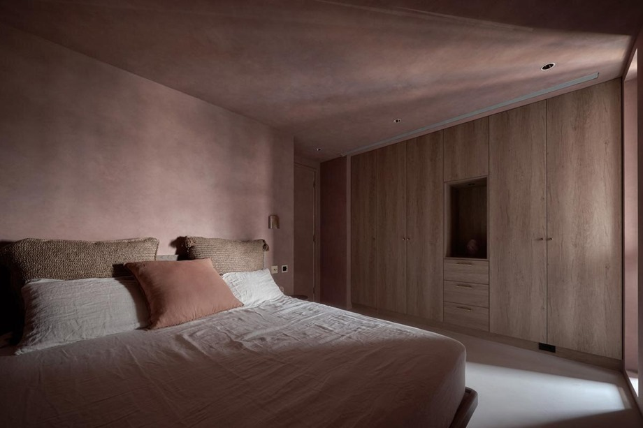 ห้องนอนบรรยากาศสงบ