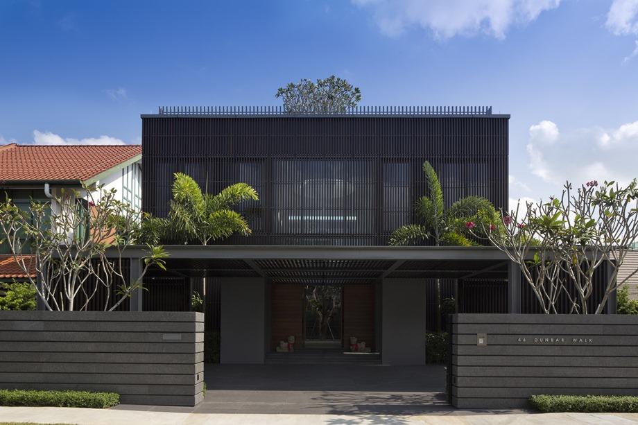 บ้านโมเดิร์นโทนสีดำ