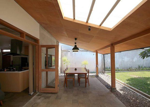 เฉลียงใส่หลังคา skylight