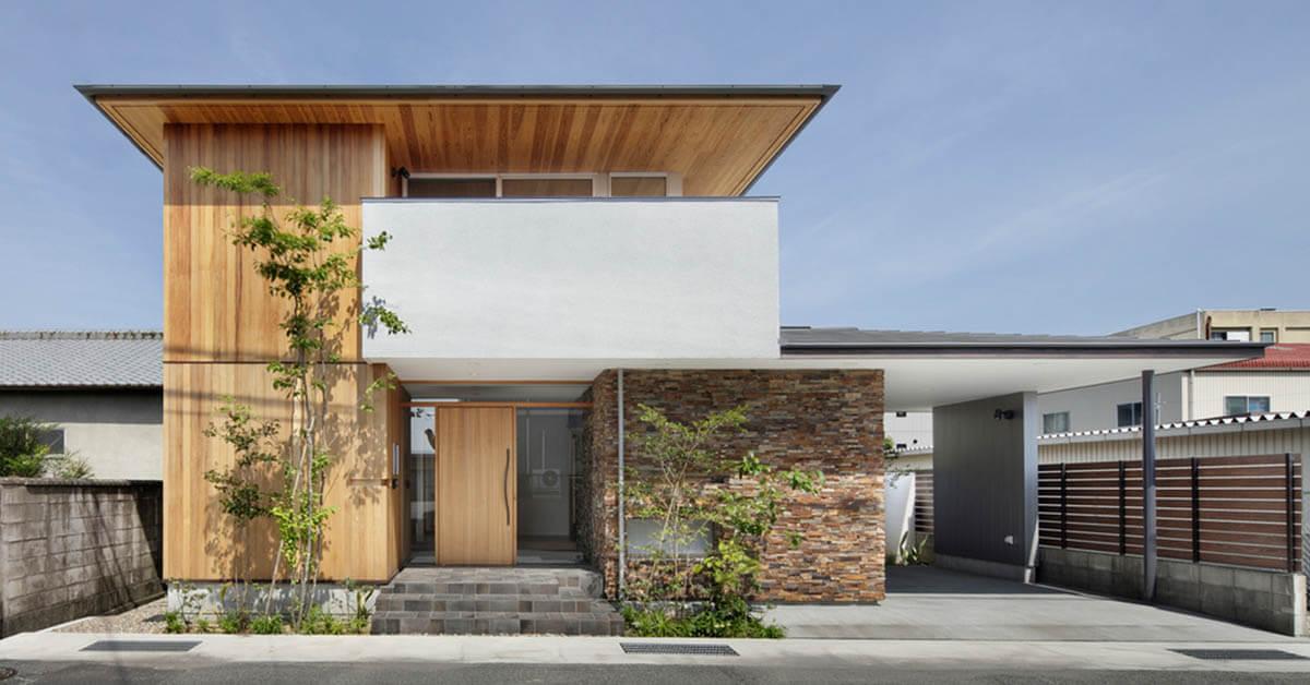 บ้านสองชั้นสไตล์ญี่ปุ่น