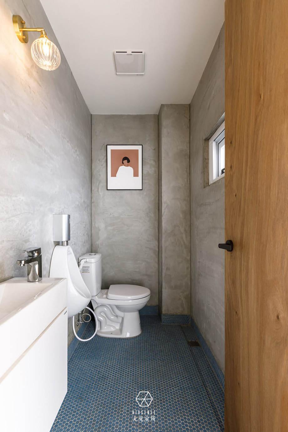 ห้องน้ำแนวลึก