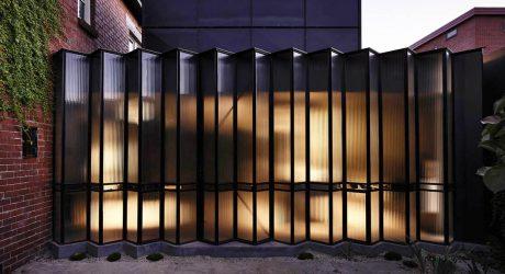 แบบประตูโปร่งแสง