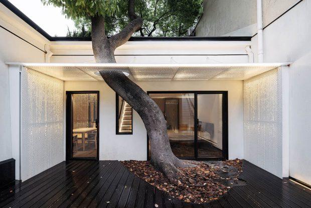 เว้นพื้นที่ไว้ปลูกต้นไม้ตรงระเบียง