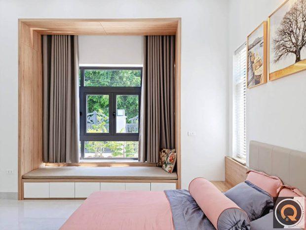 Bay Window ในห้องนอน