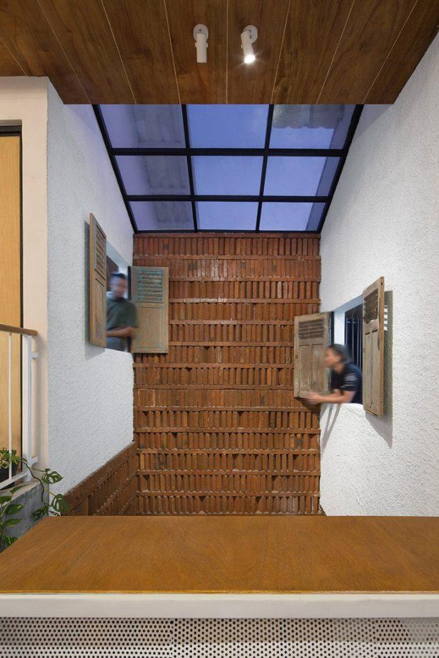 ช่องหน้าต่างและ skylight