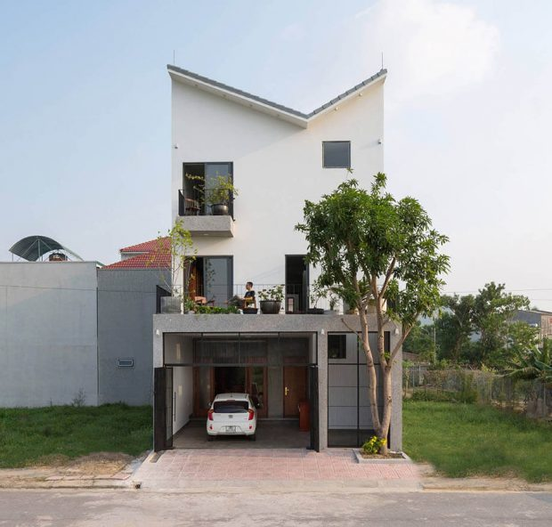 บ้านหน้ากว้าง 7 เมตร