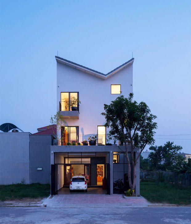 สร้างบ้านบนที่ดิน 7 เมตร