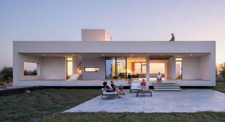 บ้านทรงกล่องมีดาดฟ้า