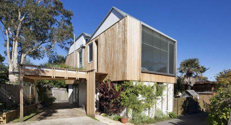 สร้างบ้านโมเดิร์นกรุไม้