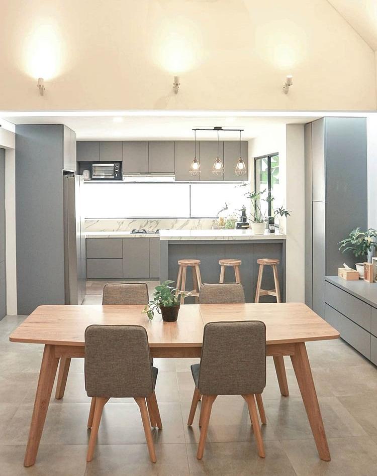 ห้องทานข้าวและครัว