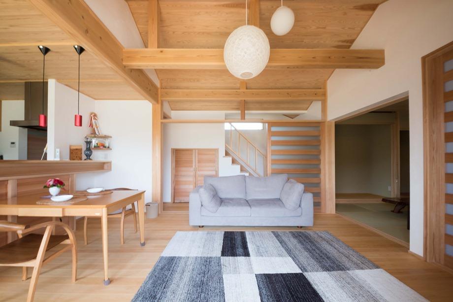 ห้องนั่งเล่นญี่ปุ่นโมเดิร์น