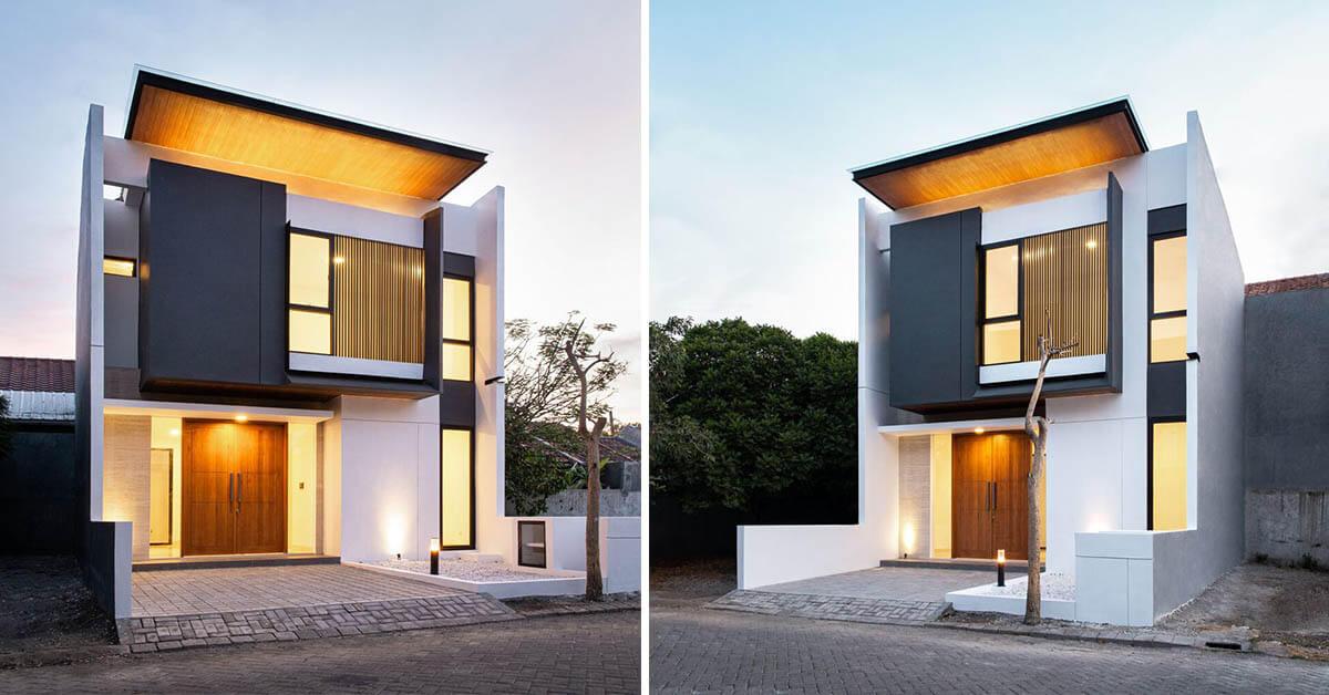 ออกแบบบ้านสไตล์โมเดิร์น