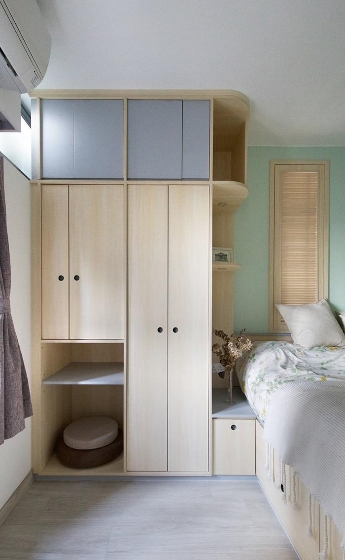 ตู้บิลท์อินในห้องนอน