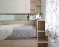เตียงเชื่อมต่อตู้บิลท์อิน