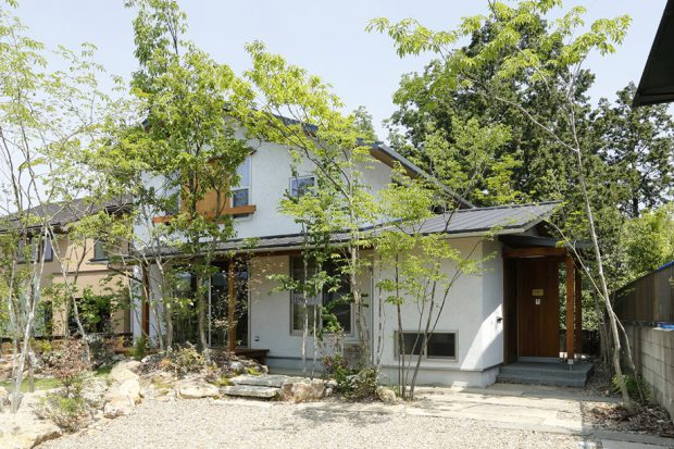 แบบบ้านญี่ปุ่นสองชั้น
