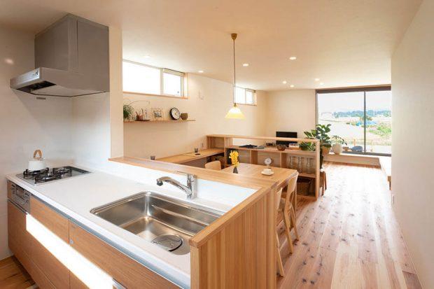 เคาน์เตอร์ครัวบ้านญี่ปุ่น