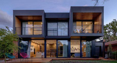 สร้างบ้านสองชั้นหลังคาแบน