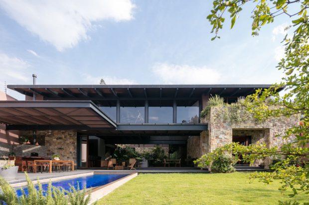 บ้าน Modern-Maxican-Tropical-House