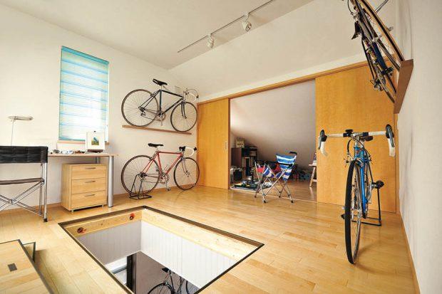 ห้องเก็บจักรยาน