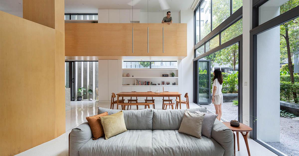 บ้าน Open Plan