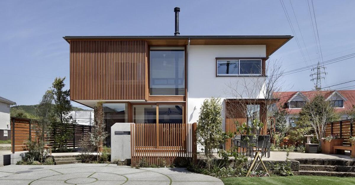 แบบบ้านสองชั้นสไตล์ญี่ปุ่น