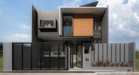 สร้างบ้านโมเดิร์นสองชั้น