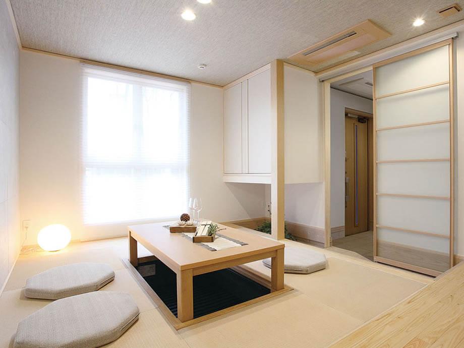 ห้องจิบชาสไตล์ญี่ปุ่น