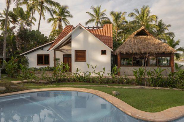 บ้านพักตากอากาศลุคธรรมชาติ