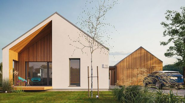บ้านสไตล์ Nordic Barn