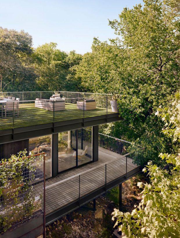 บ้านมี rooftop garden
