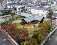 บ้านญี่ปุ่นร่วมสมัยรูปตัว T