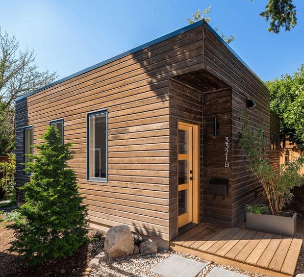 สร้างบ้านชั้นเดียวกรุไม้