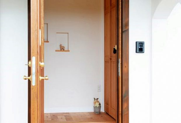 ประตูทางเข้าบ้าน
