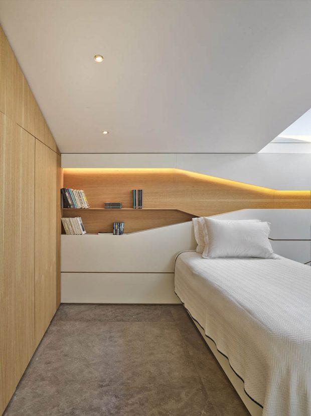 บิลท์อินตู้เสื้อผ้าในห้องนอน