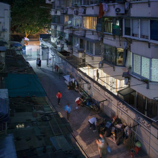 บ้าน night view
