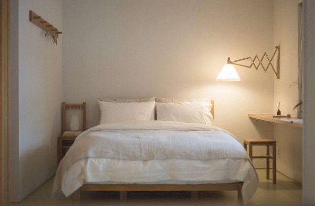 ห้องนอนสไตล์ muji