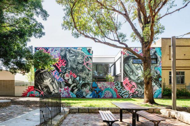 บ้านตกแต่ง Graffiti