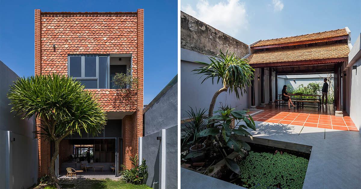 บ้านหน้าแคบในเวียดนาม