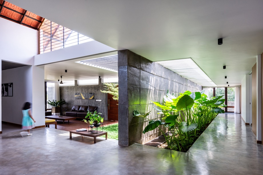 สเปซในบ้านและพื้นที่สีเขียว