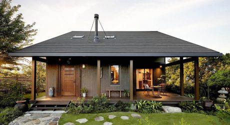 บ้านสีดำเข้มสไตล์ญี่ปุ่น