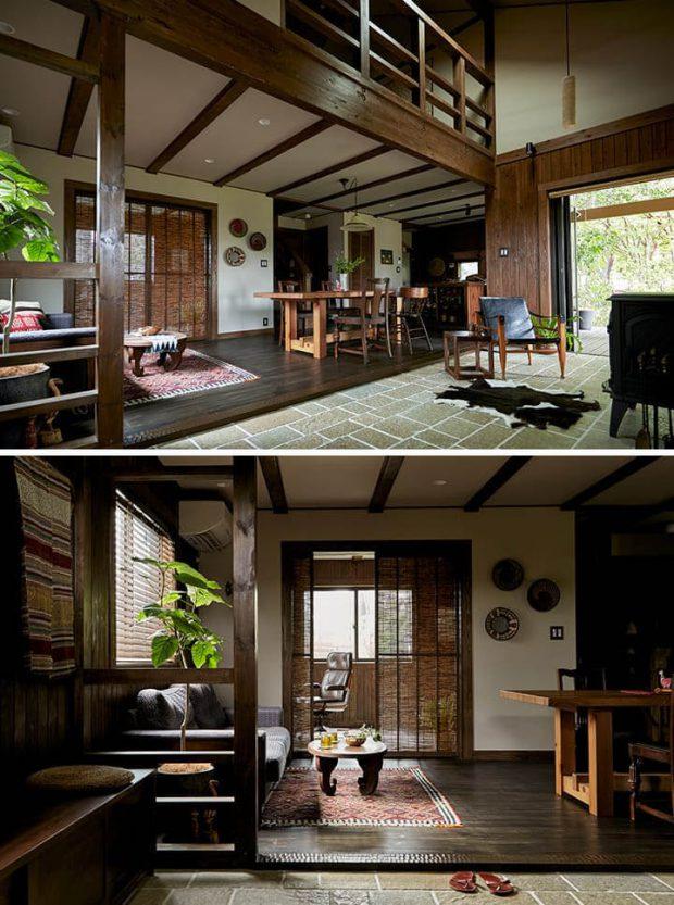 บ้านชั้นครึ่งสไตล์ญี่ปุ่น