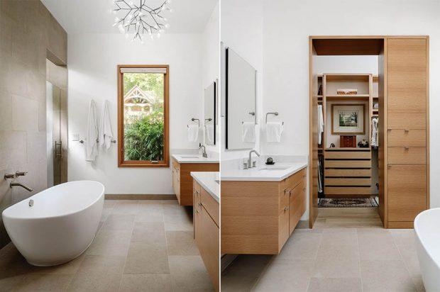 อ่างอาบน้ำสีขาวทรงรี