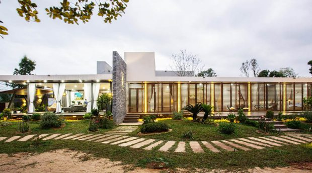 ออกแบบบ้านชั้นเดียว