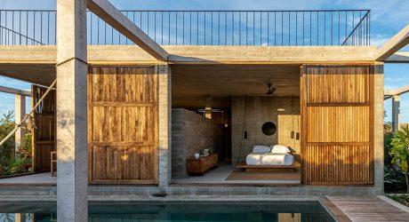 บ้านคอนกรีตสร้างแบบง่าย ๆ