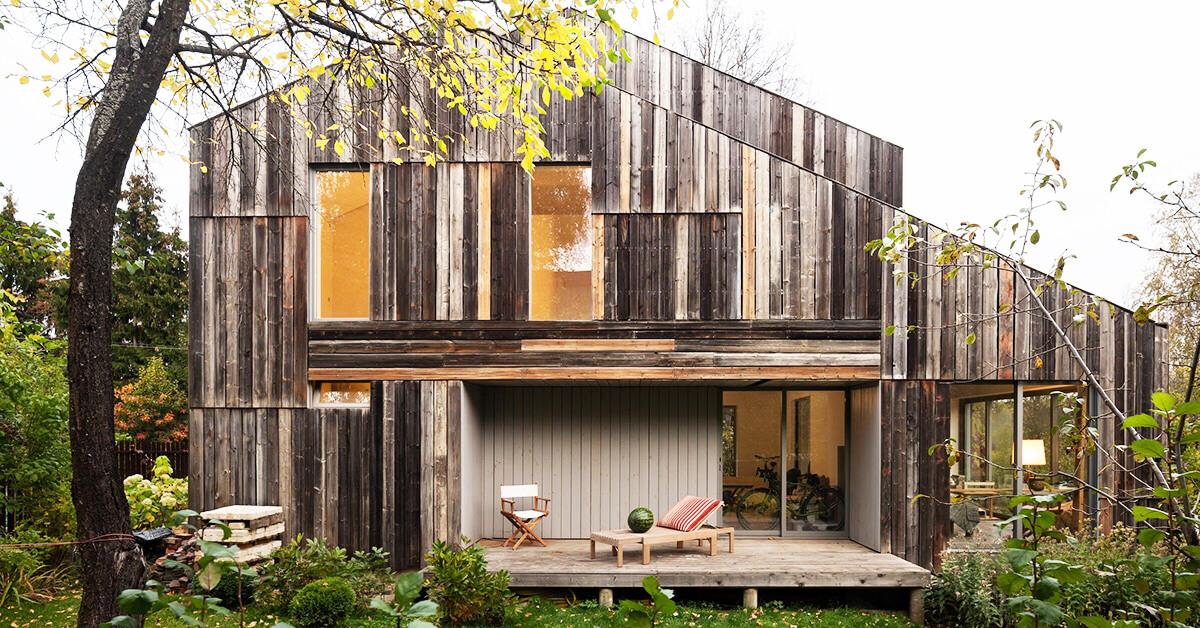 สร้างบ้านไม้สไตล์โมเดิร์น