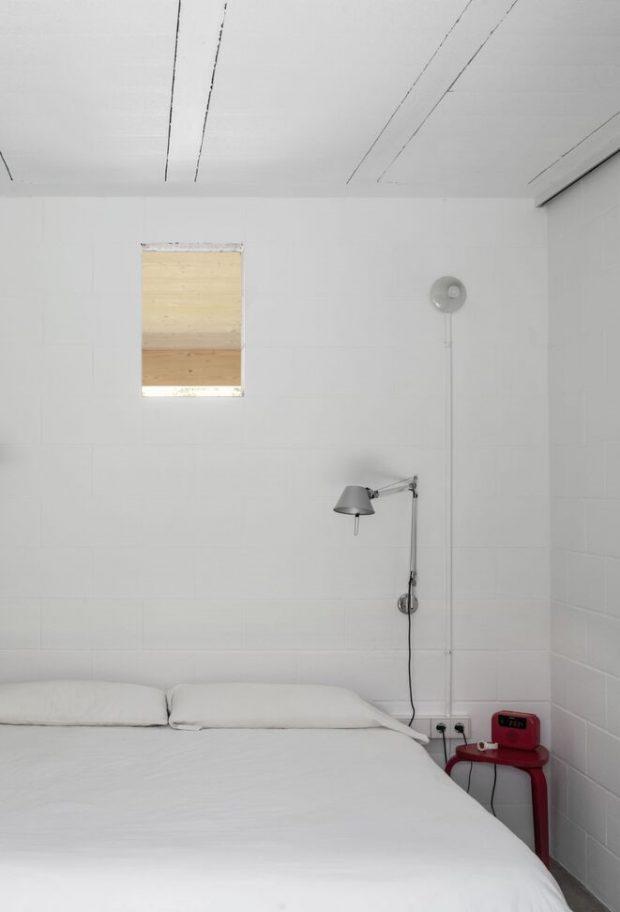 ห้องนอนตกแต่งสไตล์มินิมอล