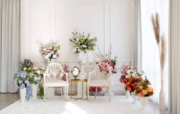 ตกแต่งบ้านด้วยดอกไม้สไตล์อิงลิชคันทรี