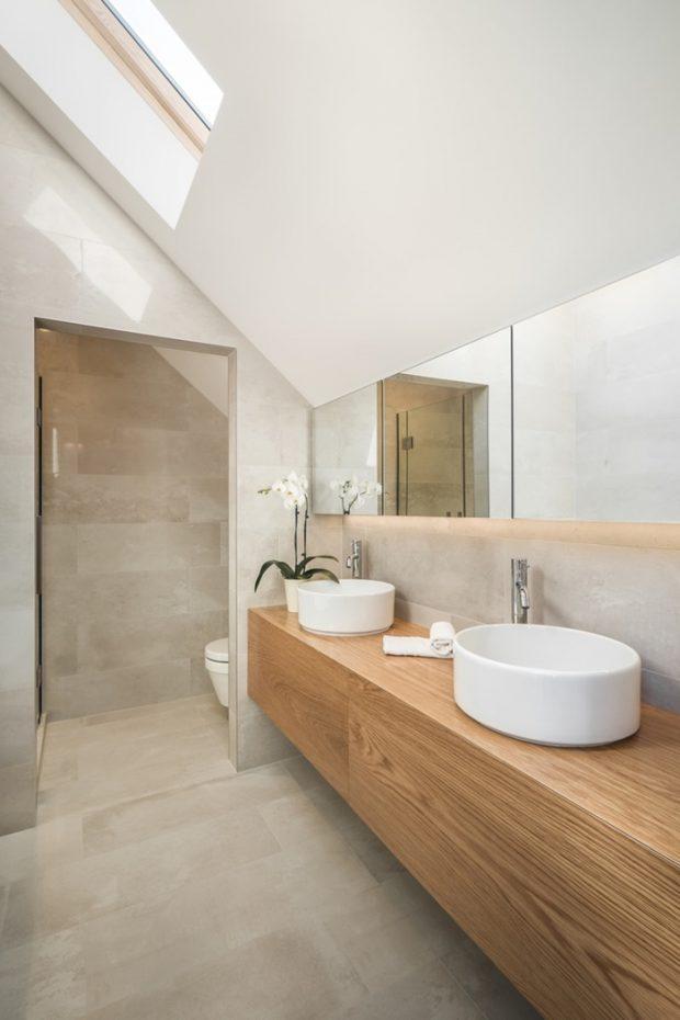 ห้องน้ำมี skylight